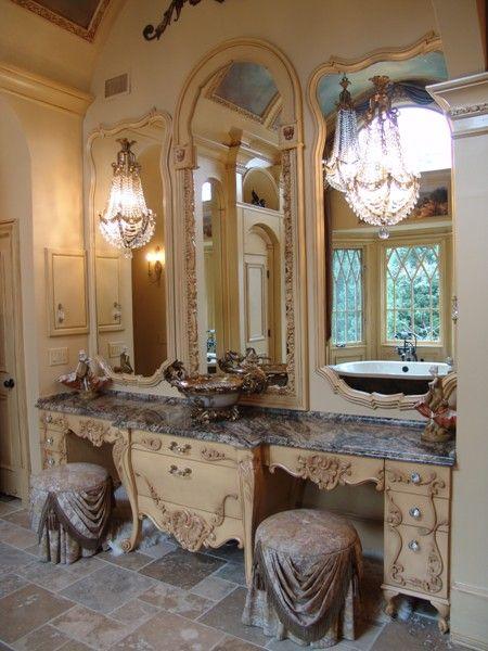 European French Bath Interior Design Atlanta Photo Gallery