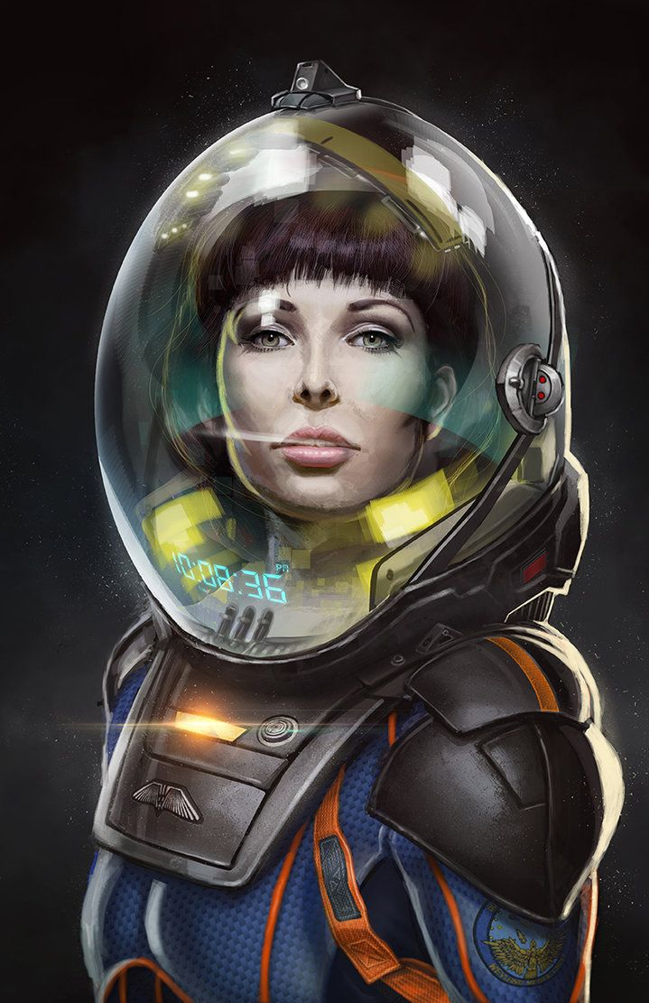 Prometheus Space Girl by Dilemmachine3 on DeviantArt
