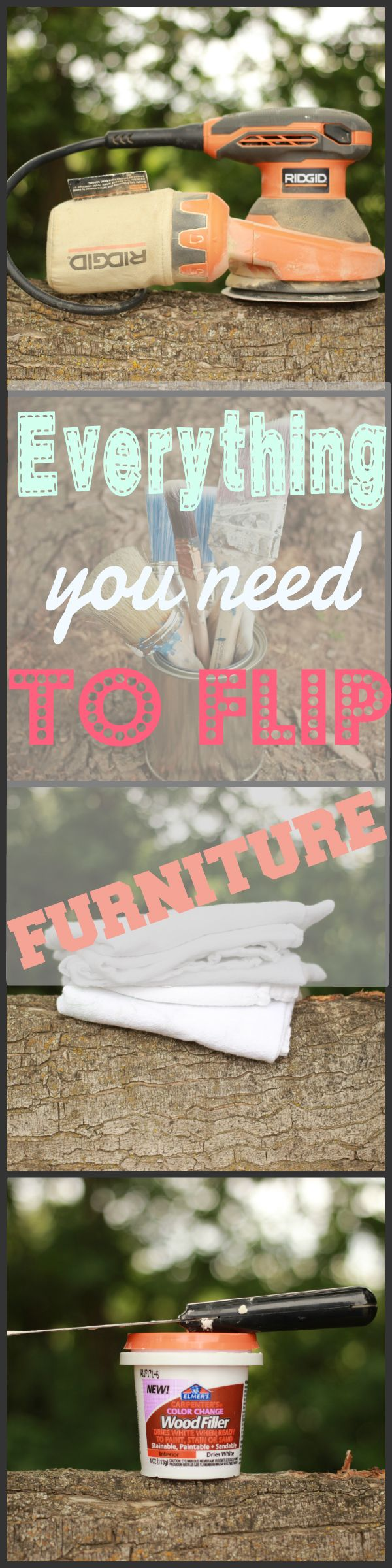 All the tools you need to start flipping furniture!