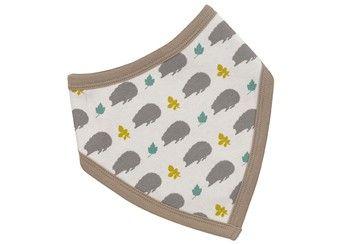 omkeerbare bandana slab 'Hedgehog' Organics for Kids | kinderen-shop Kleine Zebra