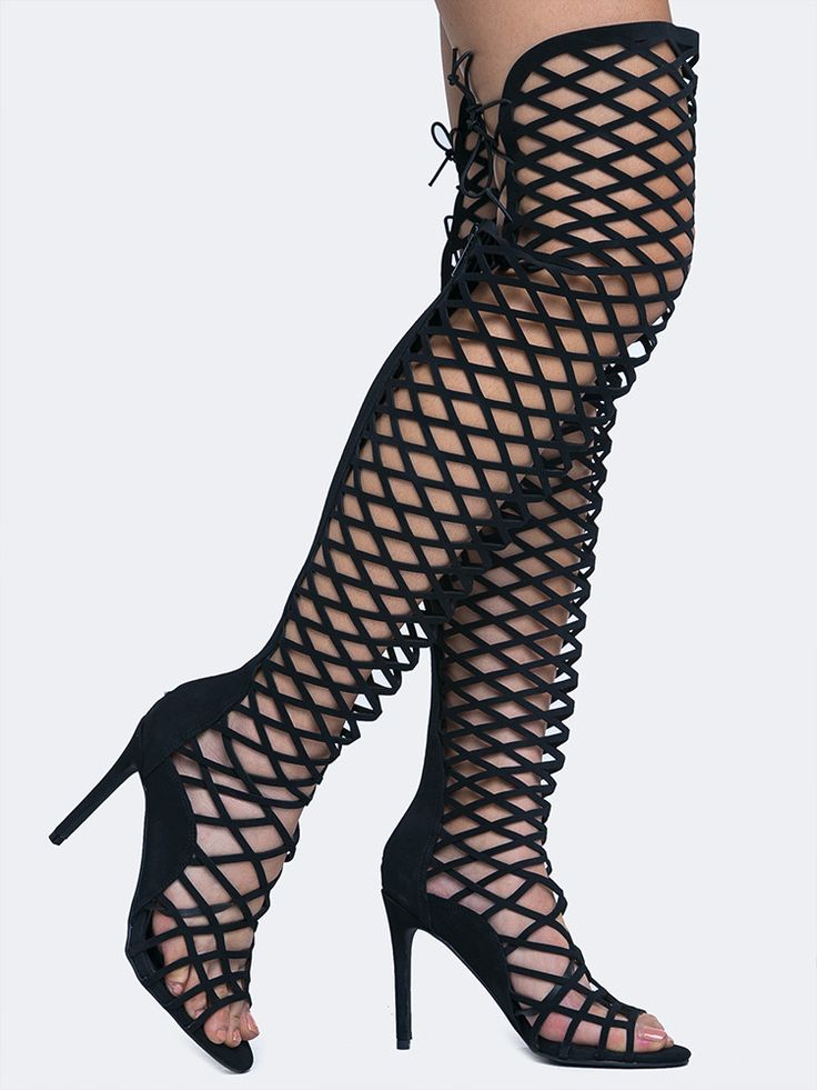 Best 25  Thigh high gladiator heels ideas on Pinterest | Gold belt ...