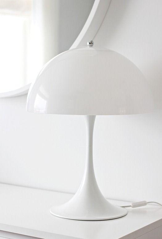 Via Nordic Leaves   White   'Panthella' Verner Panton Lamp