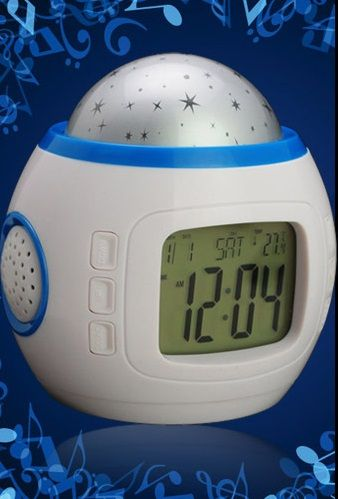 Часы будильник с проектором звездного неба не только разбудит в назначенное время приятной мелодией но и создаст романтическую вселенную. http://zacaz.ru/products/dom-byt-kuhnya/uyut-doma/chasy-budilnik-s-proektorom-zvezdnogo-neba/