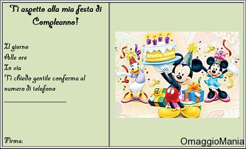 Biglietti di inviti per festa di compleanno: come farli quasi gratis - http://www.omaggiomania.com/biglietti/biglietti-di-inviti-per-festa-di-compleanno-come-farli-quasi-gratis/