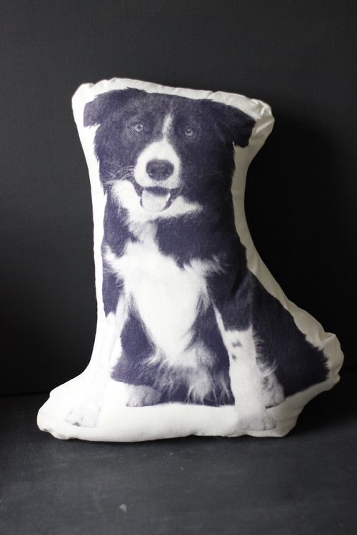 Sheepdog Cushion - Areaware - Shop at www.aprilandthebear.com