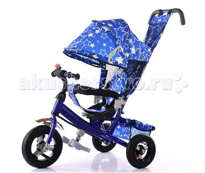 Велосипед трехколесный KidsCool HP-TC-701 надувные колеса  Детский трехколесный велосипед HP-TC-701 надувные колеса с ручкой толкателем и капшоном.  Особенности: Ручка управлени движением позволет родителм одной рукой контролировать поездку и управлть велосипедом; защитный разъёмный поручень; складыващиес подножки; складыващийс двух сегментный капшон  Спинка с регулировкой угла наклона, 3 положени; удобные не проскальзыващие педали из рифленого пластика; металлическа хромированна ручка…