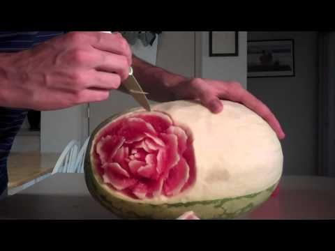 Watermelon Carving Imagination Project