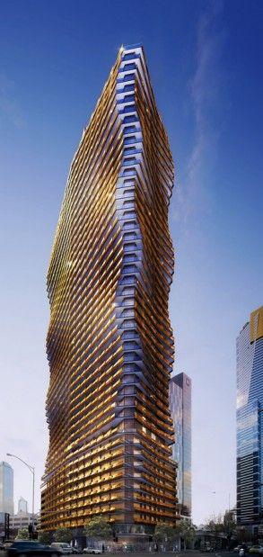 Hanover House, 158 City Road, Melbourne by Elenberg Fraser :: 44 floors