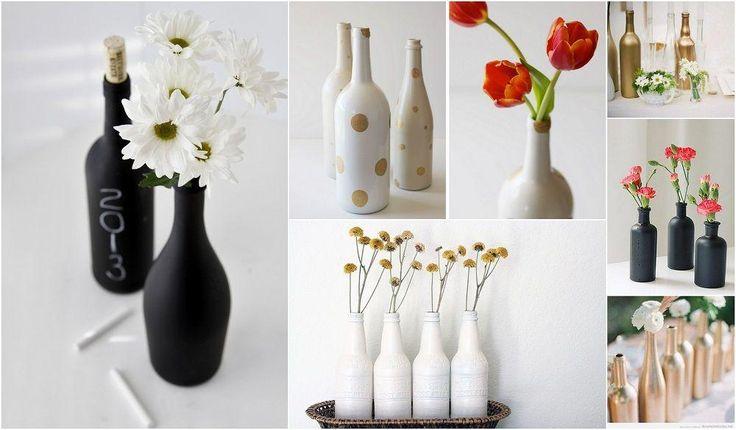 cmo pintar botellas y tarros de vidrio paso a paso pintar botellas de vidrio pintar botellas y botellas de vidrio decoradas