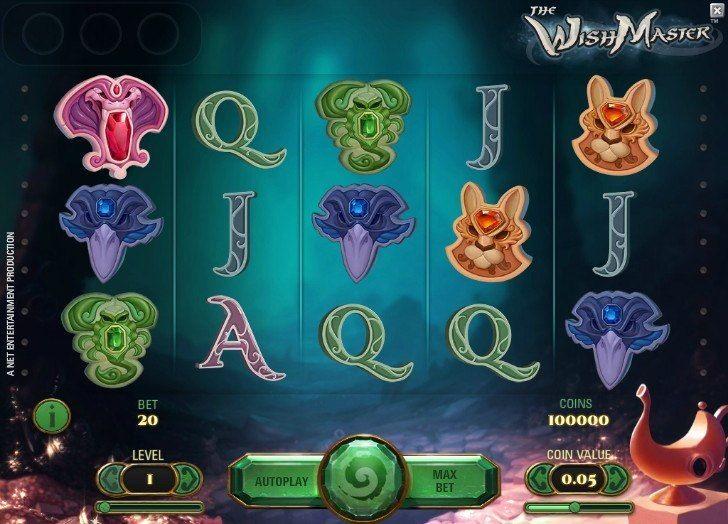New Wish Master slot - http://cp4w.com/net-entertainment-slots/wish-master.html