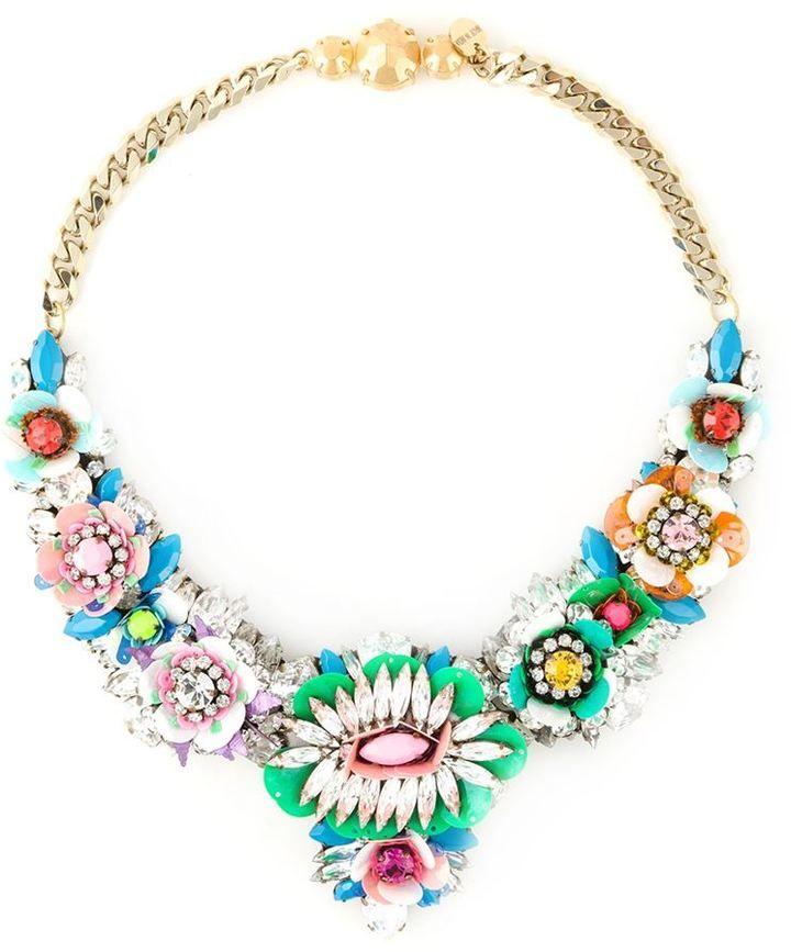 Shourouk 'Apolonia Flower' necklace