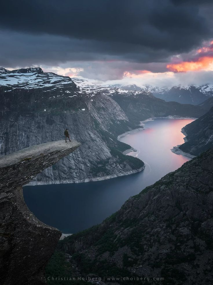Photo: Standing on the edge of Trolltunga is quite the experience. In fact, it's the perfect way to kick off the weekend!  So, after hanging out with +Clint Burkinshaw, I'll give Google + another try. It's evolved so much since I last used it and I find this collection function intriguing. Since I just learned about Google + Collections, I'm looking for some to follow. What are your favorite Collections that you can recommend?  #Norway #Trolltunga #Odda #Hike #mountains #cliff #selfie #fjord…