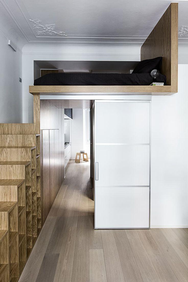 Casa 40: Camera da letto in stile in stile Moderno di Studio Tenca & Associati