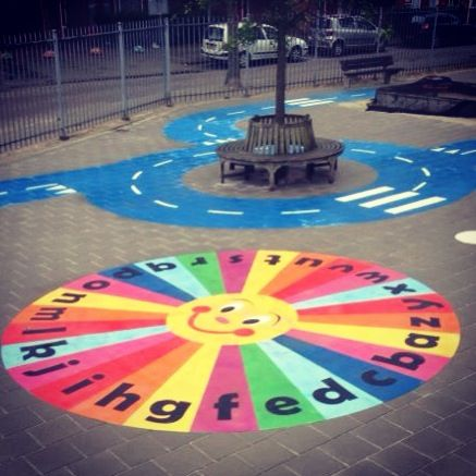 Zoneparc playground with educational games. Learn, play and have fun :)