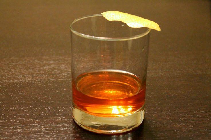 Sazerac Cocktail with Peychaud's bitters