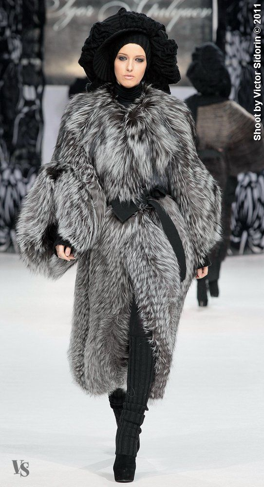 Fur -- Looks like what I would wear in a far northern country.  Love it! SERIOUS