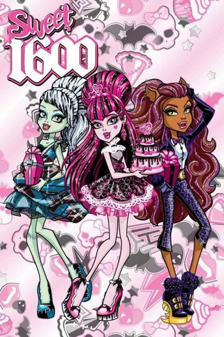 "~Monster High ""Draculaura Sweet 1600"" themed Birthday Pictures~"