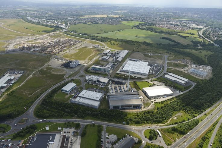 The Enterprise Zone's Advanced Manufacturing Park (AMP) continues to grow - latest aerial image courtesy of Harworth Estates