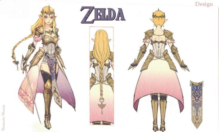 Zelda Concept art from nintendo power.