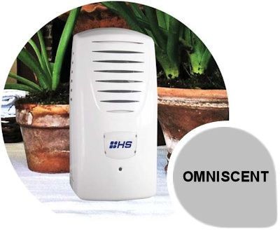 Omniscent: The Omniscent® fragrance delivery system is unique in its ability to provide continuous and consistent fragrance delivery to large interior spaces, whilst providing total user control of output and intensity, creating a positive user experience in areas such as gyms, reception areas and hotels.