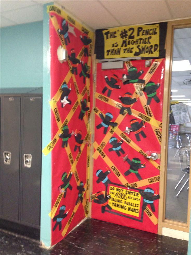 Ninja state testing door decoration | For the Classroom ...