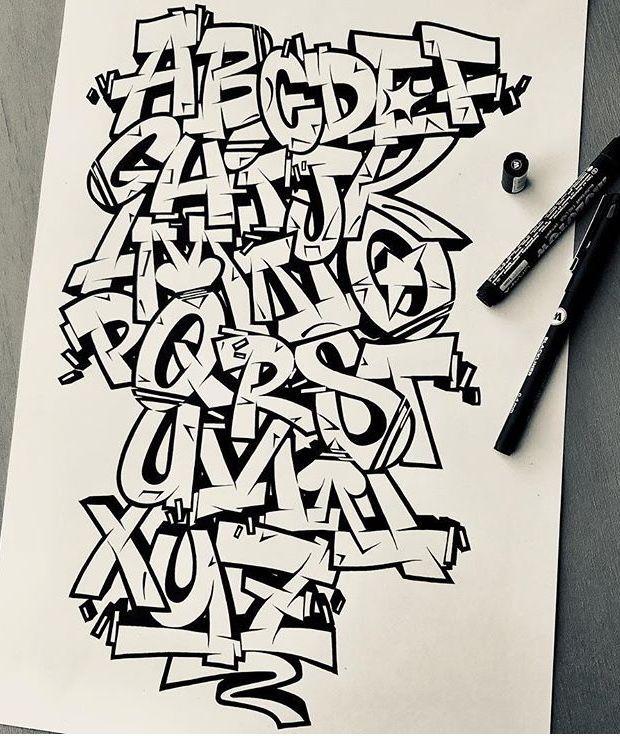 Alphabets graffiti street art 153 photos vk – Artofit