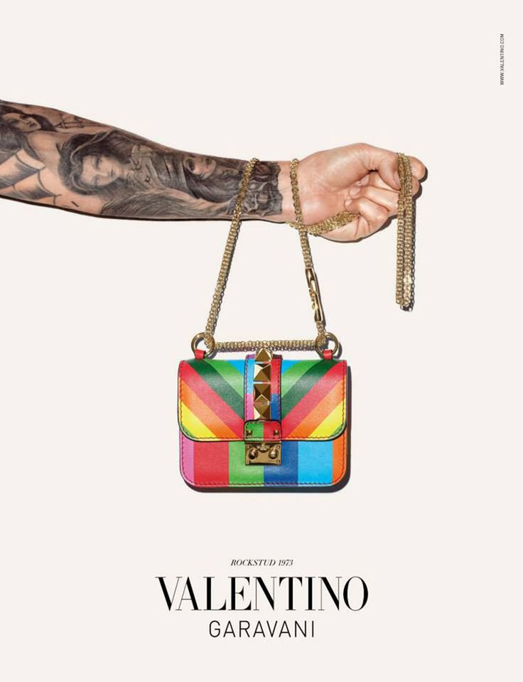Valentino 1973 Accessories (ad campaign snapped by Terry Richardson.)