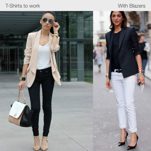 Fashion style How to t-shirts wear in winter for woman