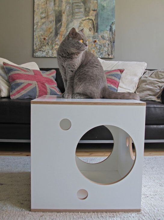 For you and for your cat! 'Hide 'n Seek' Box from Julinka