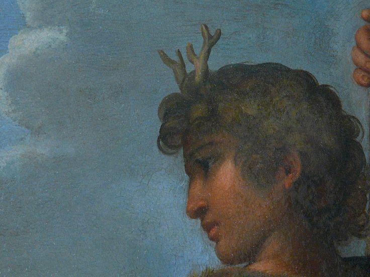 ALBANI Francesco,1617 - Actéon métamorphosé en Cerf - Détail 1