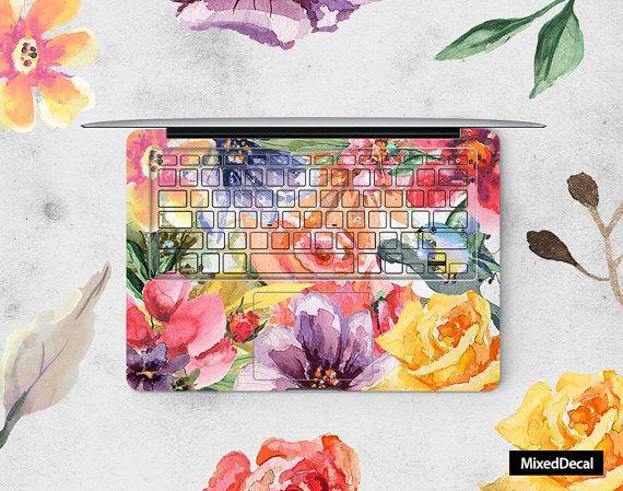 MacBook Keyboard Sticker - Floral (choose different Countries Version)