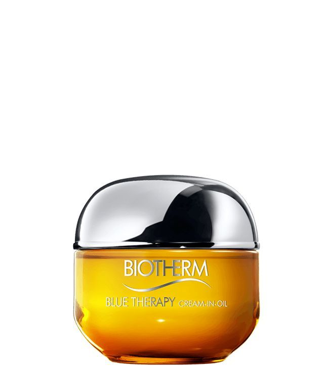 Blue Therapy Anti Aging Cream In Oil Repairs Fast And Deep To Reduce The Look Of Wrinkles And Increase Bounce For Dry Skin Biotherm Biotherm Blue Therapy Biotherm Anti Aging Cream