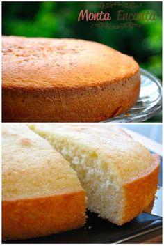 Bolo Branco Hummm nada mais gostoso que cheirinho de bolo perfumando a casa e se ele for um bolo branco e simples, para tomar com café, melhor ainda! Bolo branco daqueles sem nada, incríveis po…