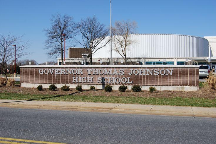 Gov. Thomas Johnson High School, Frederick, Md., site of the 1972 U.S. Olympic Trials in women's athletics