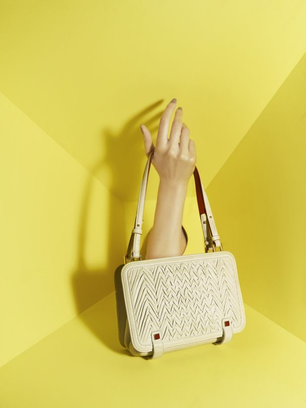 You've all seen our unique Zig and Zag Missoni shoot from Issue 5, now take a closer look at the handbags featured in the shoot, designed by Margherita Missoni.