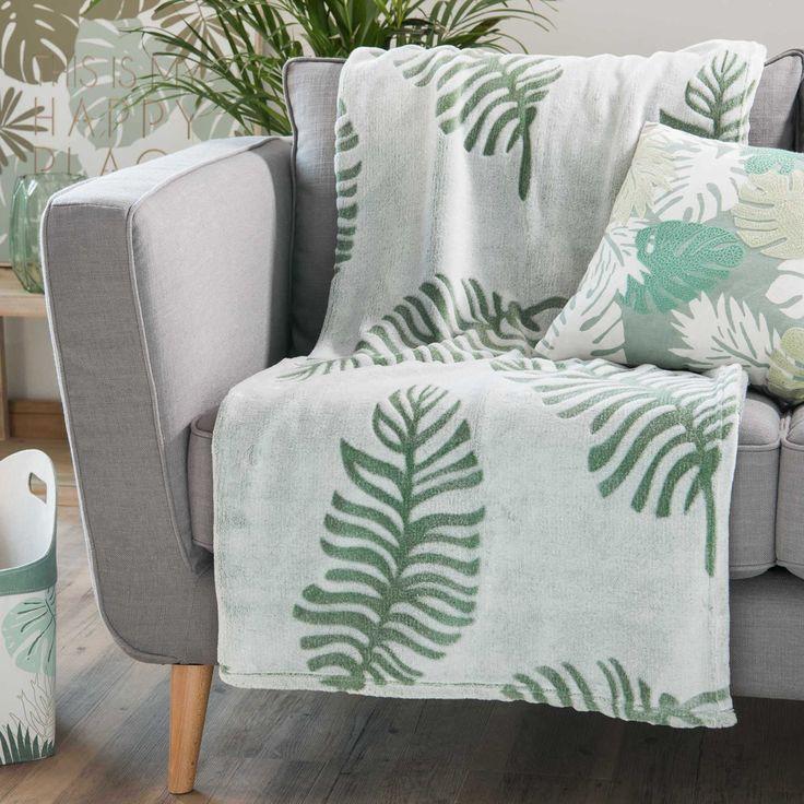 Green And Botanical Living Room