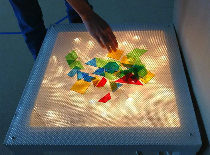 I've been adding elements to our sensory room (I promise to post a new picture soon!). I wanted to make sure to address visual sensory needs...