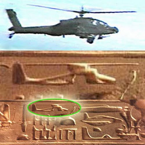 Evidence of time travel maybe? Why would a chopper be flying around with UFO…