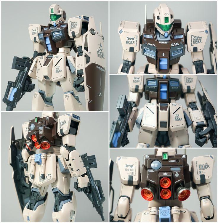 [MG] RGM79G GM Command (Colony type) Gunpla custom