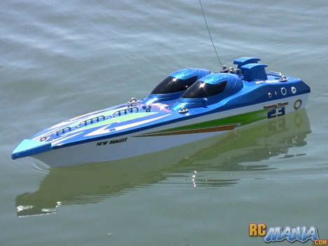 New Bright Fountain 23 Rc Boat  *** click the picture to learn more...