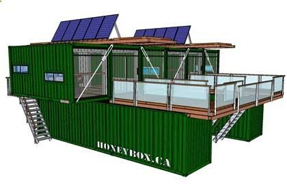 Container House - HoneyBox INC. shipping container architecture - Who Else Wants Simple Step-By-Step Plans To Design And Build A Container Home From Scratch?