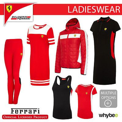 #Ferrari f1 formula one team ladies #womens clothing t-shirt polo #pants leggings,  View more on the LINK: http://www.zeppy.io/product/gb/2/162301320814/