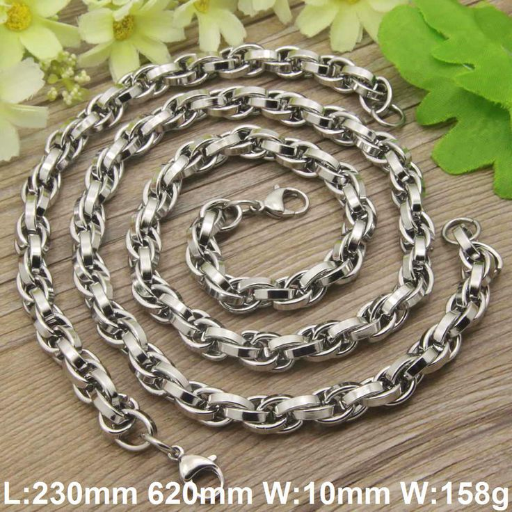 Find More Jewelry Sets Information about Hot selling Stainless steel Necklaces bracelets jewelry Sets for women and men SGCAAXBH,High Quality jewelry display set,China jewelry gold set Suppliers, Cheap set jewelry from JOYAS STAINLESS STEEL JEWELRY on Aliexpress.com