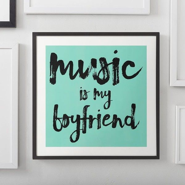 PB Teen Boyfriend Wall Art by Minted(R), 8x8, White ($42) ❤ liked on Polyvore featuring home, home decor, wall art, inspirational wall art, pbteen, wooden home decor, white home accessories and inspirational home decor