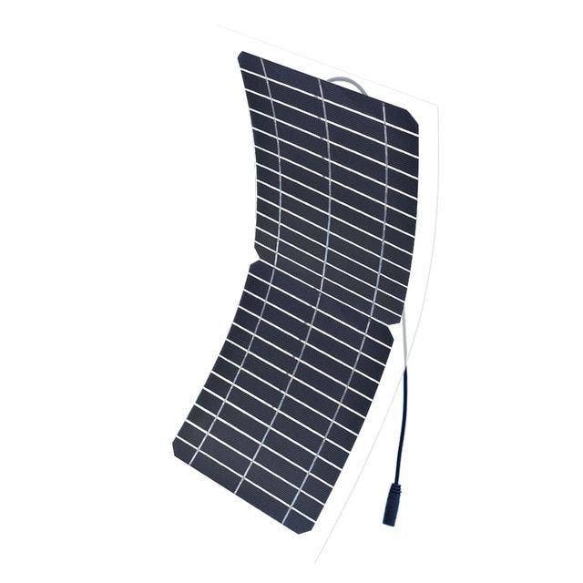 Boguang 12v 10w Transparent Semi Flexible Silicon Monocrystalline Solar Panel Cell Dc Module 12vol Diy Bat Solar Cell Solar Panels Monocrystalline Solar Panels