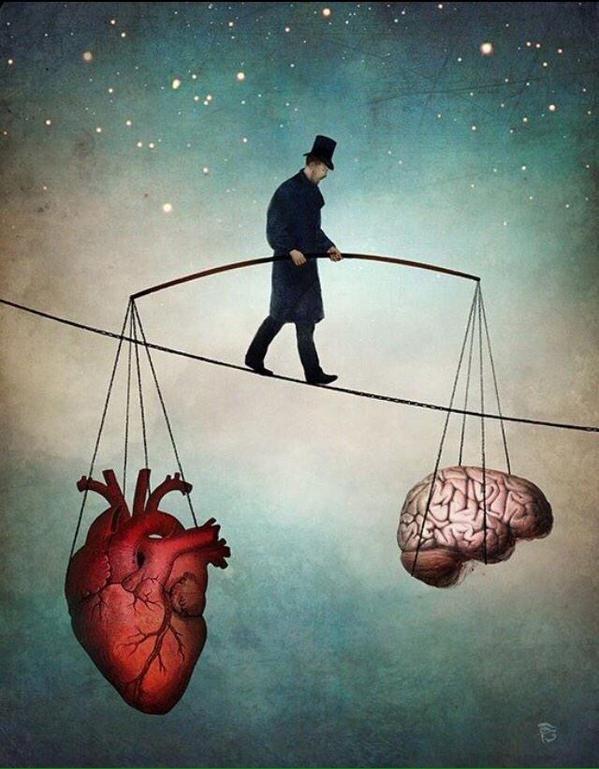 """i-sell-my-dreams: """"La vida se trata de mantener un balance """""""