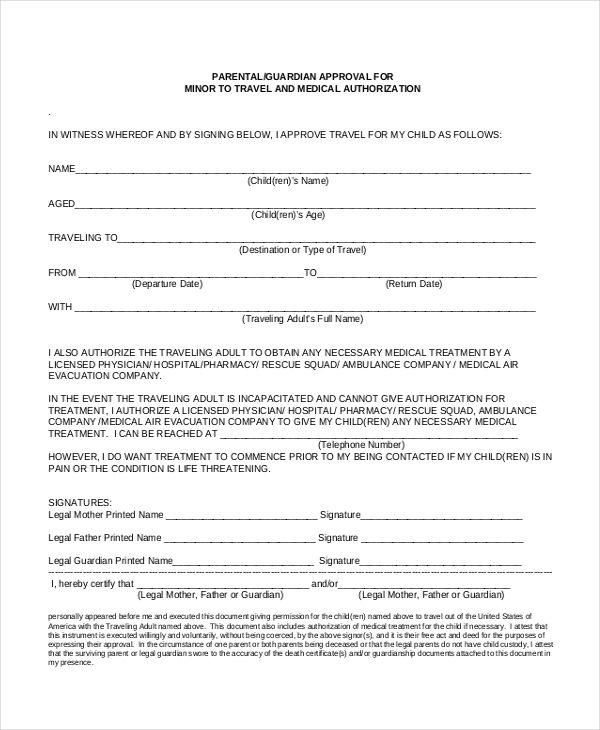 25+ unique Medical consent form children ideas on Pinterest - travel consent form sample