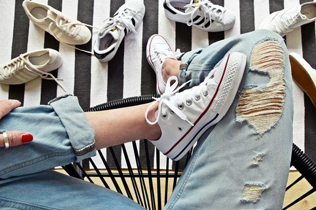 #lifehack   8 Tipps, weisse Schuhe & Sneakers strahlend sauber zu reinigen    luziapimpinella.com