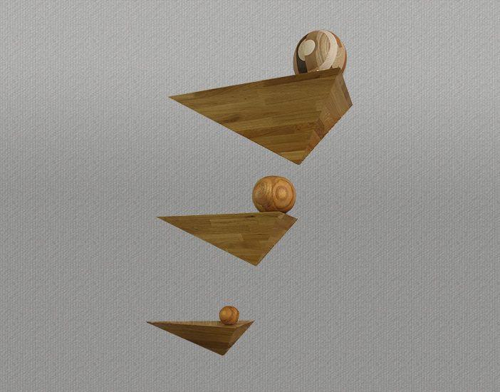 Triangle-Shelves