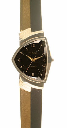 January 3, 1957 – Hamilton Watch Company introduces the first electric watch  Hamilton Ventura, 1957